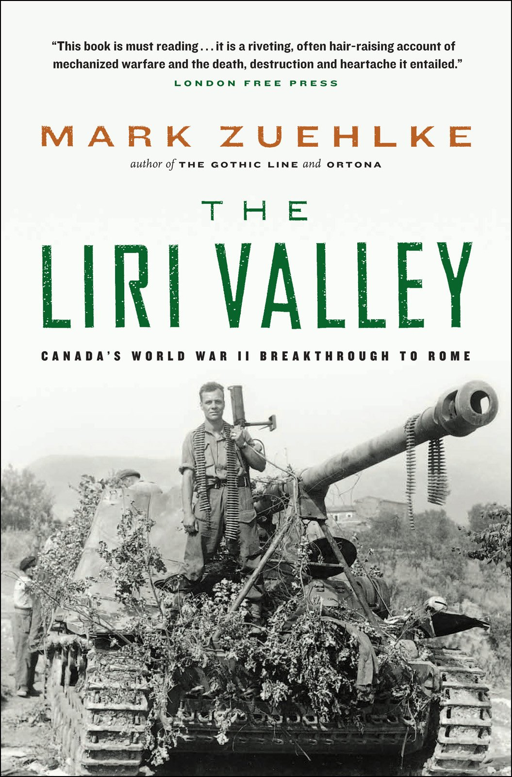 Novel The Liri Valley, Mark Zuehlke